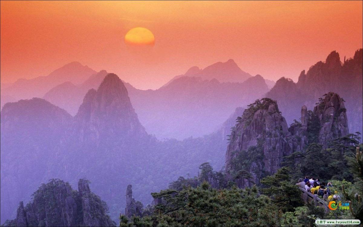 2017全国旅游景区踏青热度榜top100出炉黄山风景区荣登榜首