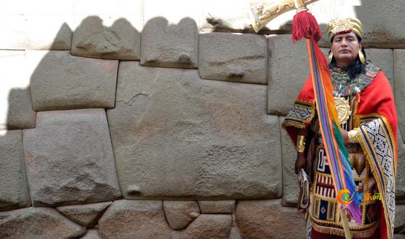 秘鲁库斯科Hatunrumiyoc街12边形印加石