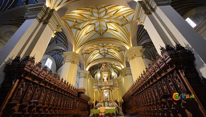 秘鲁库斯科大教堂内部