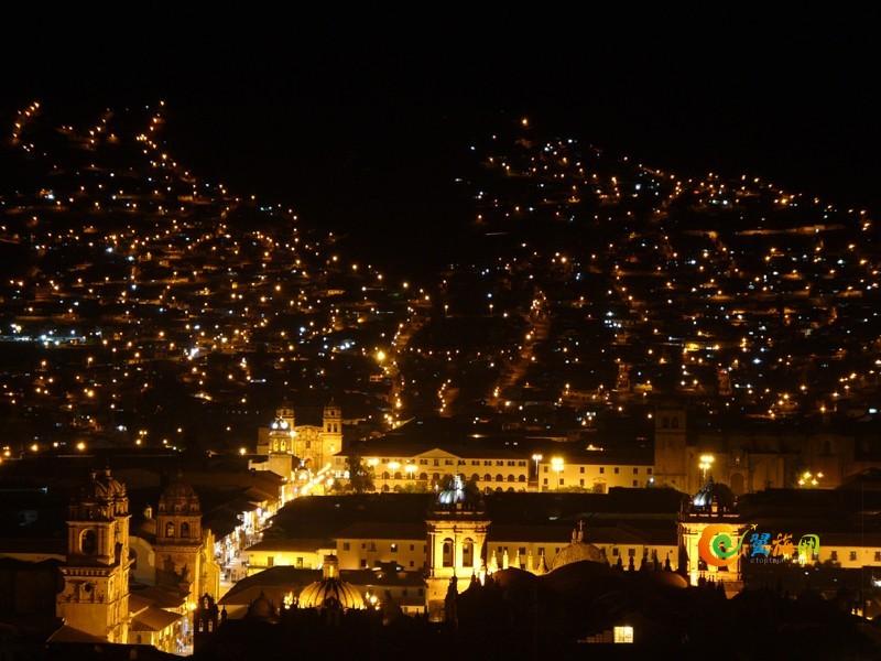 秘鲁库斯科夜景